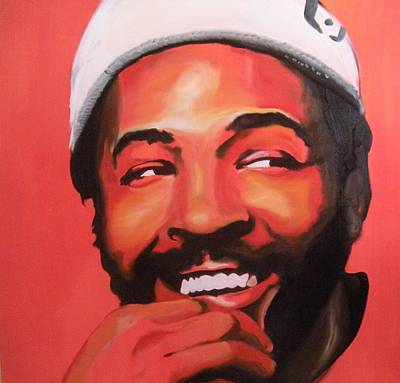 Painting - Marvin Gaye by Matt Burke