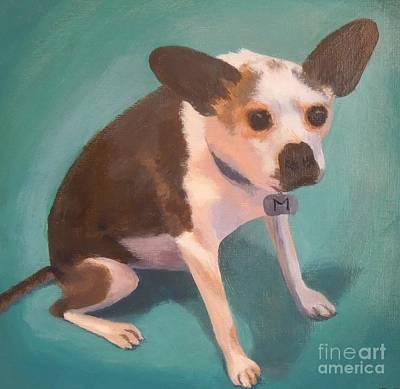 Painting - Marvin by Phyllis Andrews
