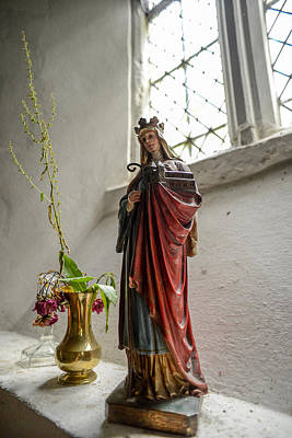Photograph - Our Blessed Lady At St Margaret Of Antioch by Alex Blondeau
