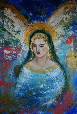 Painting - Mary by Alma Yamazaki