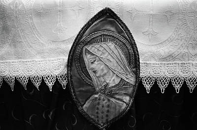 Mary Altar Cloth Art Print