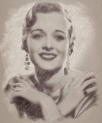 Celebrities Royalty-Free and Rights-Managed Images - Mary Astor by Esoterica Art Agency
