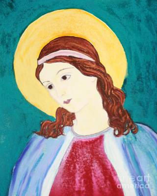 Painting - Mary Did You Know by Melinda Etzold