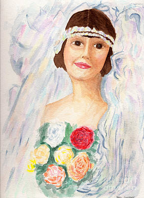 Mary - Grandmother  Original by Debbie Davidsohn