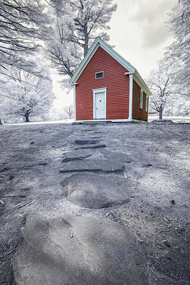 Photograph - Mary Had A Little Schoolhouse by Brian Hale