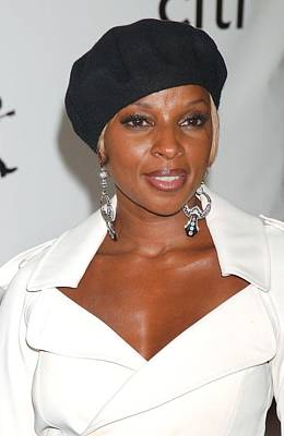 Mary J. Blige At Arrivals For The 4th Art Print