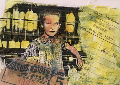 Mixed Media - Mary Jackson Spinner by Edith Hardaway