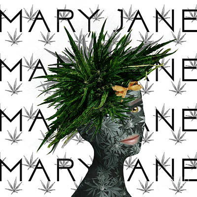Digital Art - Mary Jane by Nola Lee Kelsey