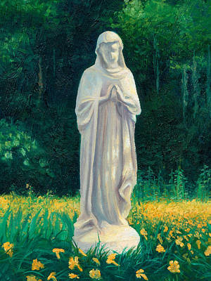 Art Print featuring the painting Mary by Joe Winkler