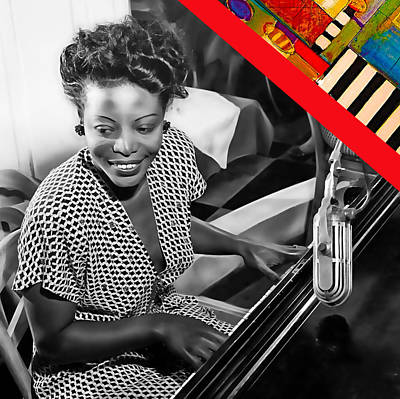 Mary Lou Williams Collection Art Print by Marvin Blaine