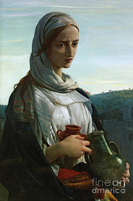 St Mary Magdalene Painting - Mary Madgalen by JR Herbert