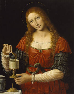 Painting - Mary Magdalen by Andrea Solario