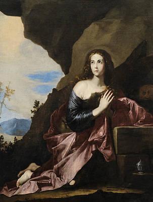 Painting - Mary Magdalene Penitent by Jusepe de Ribera
