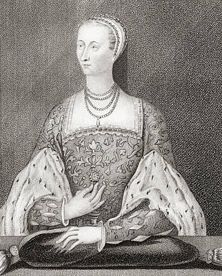 Mary Of Guise, 1515 Art Print