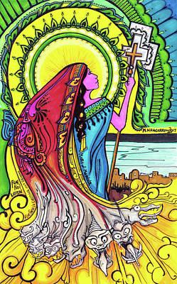 Mary Of Madgala Art Print by Maggie Nancarrow