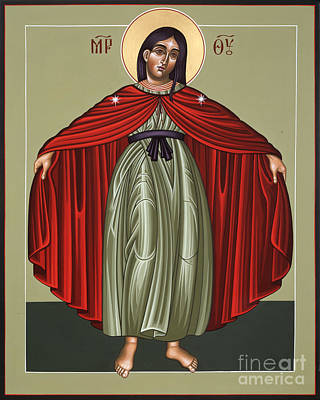 Painting - Mary Of The Magnificat Mother Of The Poor 091 by William Hart McNichols