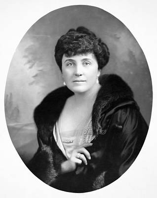 Photograph - Mary Roberts Rinehart by Granger