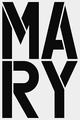 Avatar Painting - Mary by Three Dots