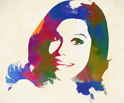Painting - Mary Tyler Moore by Dan Sproul