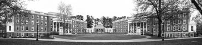 University Of Mary Washington Residence Halls Art Print by University Icons