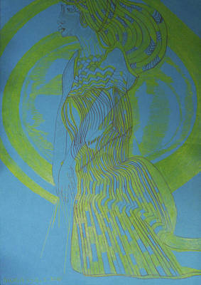 Painting - Mary Woman Clothed With The Sun by Gloria Ssali