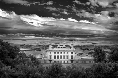 Photograph - Maryhill In Monochrome by Jon Ares
