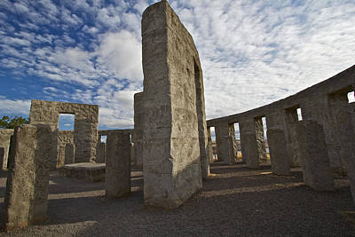 Photograph - Maryhill Stonehenge 3 by Todd Kreuter