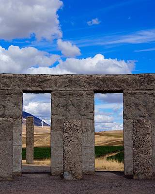 Photograph - Maryhill Stonehenge by Jacklyn Duryea Fraizer
