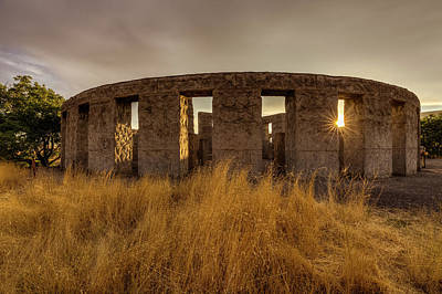Photograph - Maryhill Stonehenge by Mark Kiver