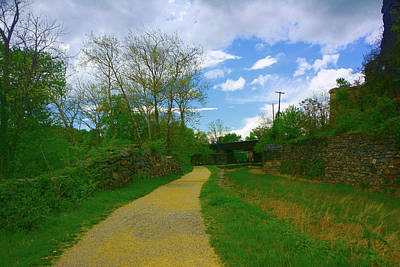 Photograph - Maryland Appalachian Trail After Leaving Harpers Ferry by Raymond Salani III