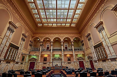 Photograph - Maryland State Capital Building 1 by Lara Ellis