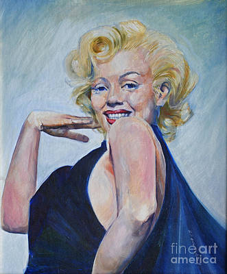 Actors Royalty-Free and Rights-Managed Images - Marylin as She Saw Herself by P Anthony Visco