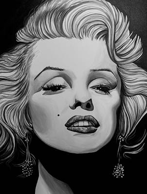 Marylin Painting - Marylin by Matt Brown