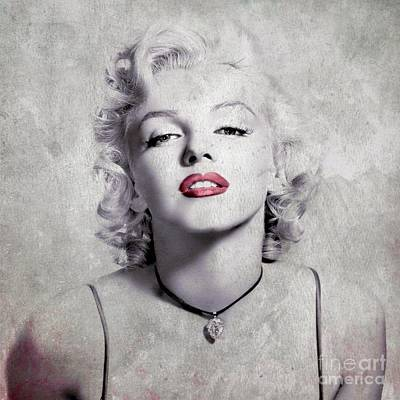 Digital Art - Marylin Monroe - 0102a by Variance Collections