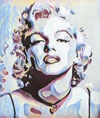 Marylin Monroe Art Print by Bitten Kari