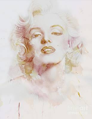 Marylin Monroe Art Print by Jacky Gerritsen