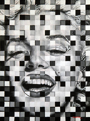 Painting - Marylin I by Matthew Martelli