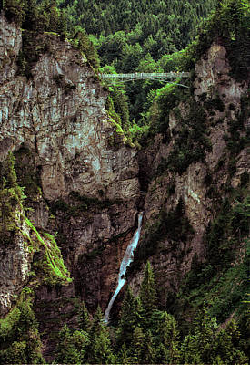 Photograph - Mary's Bridge Over Poellat Gorge by Robert Woodward
