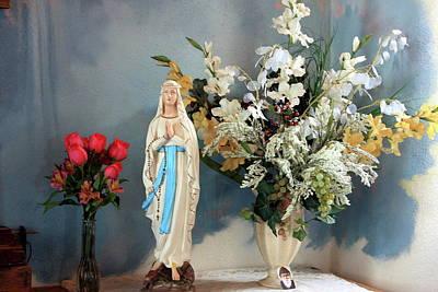 Mary's Roses Art Print