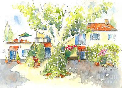 Painting - Mas St Antoine 2 by Pat Katz