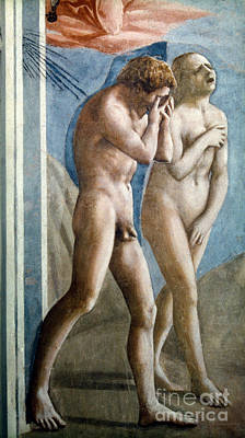 Photograph - Masaccio: Expulsion by Granger