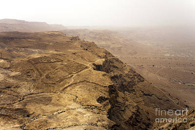 Photograph - Masada by John Rizzuto