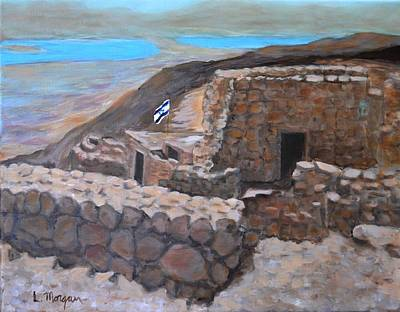 Painting - Masada by Laurie Morgan