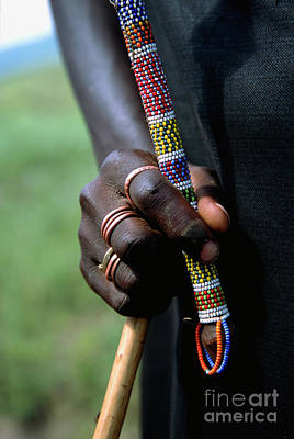 Photograph - Masai Hand by Scott Kemper