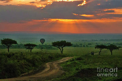Photograph - Masai Mara Dawn by Karen Lewis