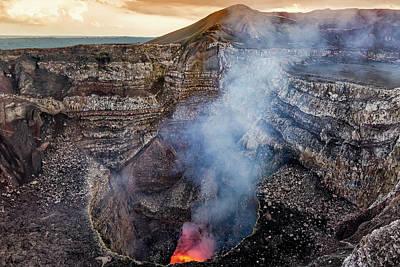 Photograph - Masaya Volcano, Nicaragua by Jose Luis Vilchez