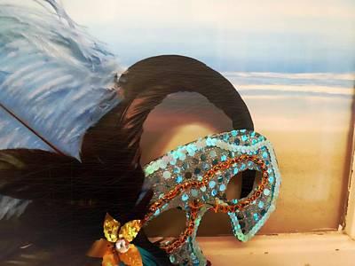 Mascarade Art Print by JAMART Photography