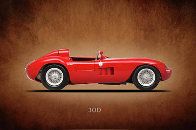 Maserati Photograph - Maserati 300s 1956 by Mark Rogan