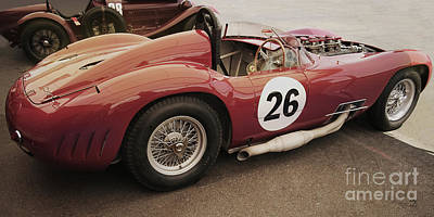 Photograph - Maserati 450 S by Curt Johnson