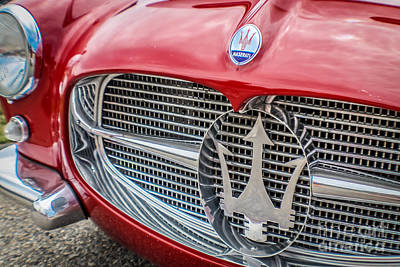 Maserati Art Print by Claudia M Photography